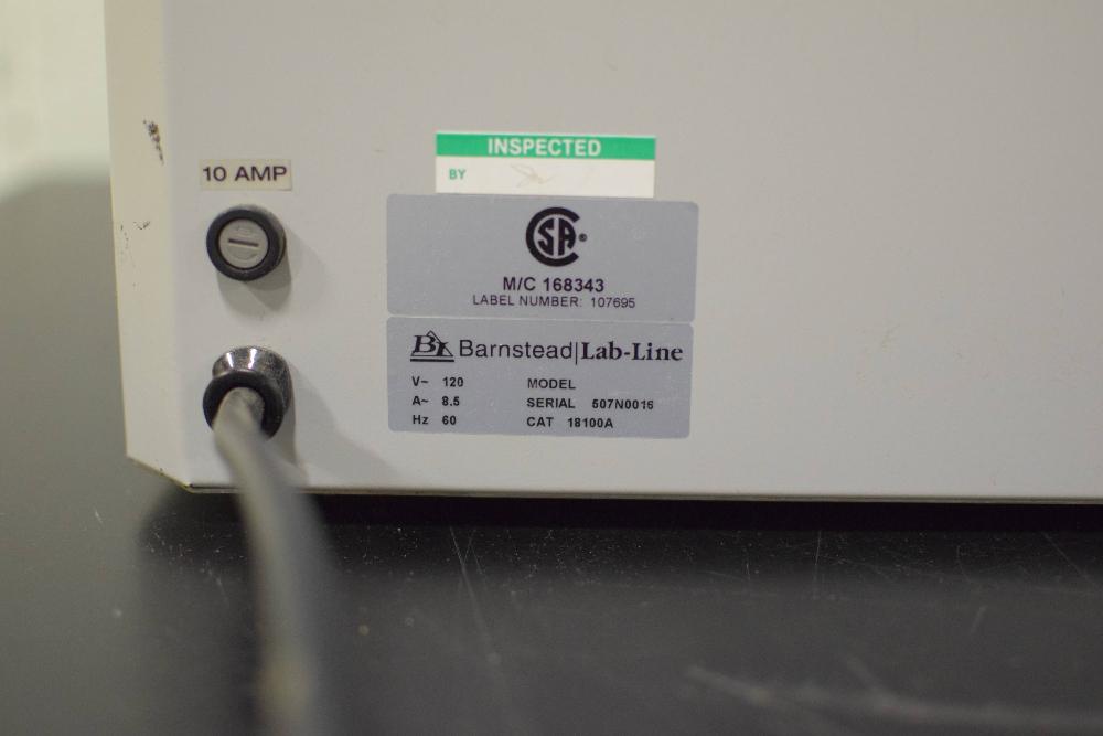Barnstead Lab-Line 18100A AquaBath Water Bath