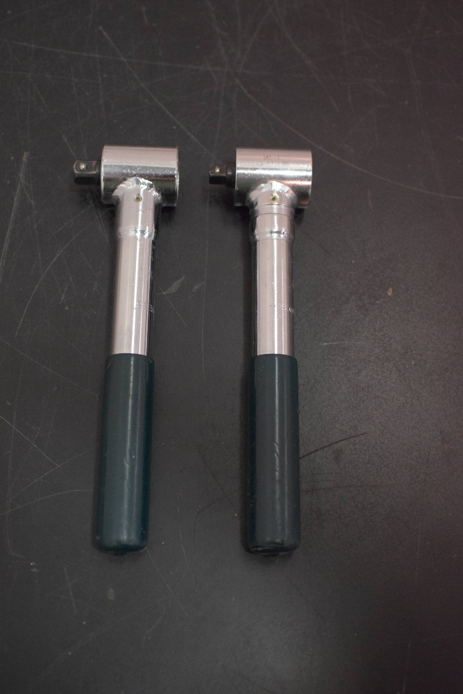 Lot of (2) Seekonk MR-1 Torque Wrench