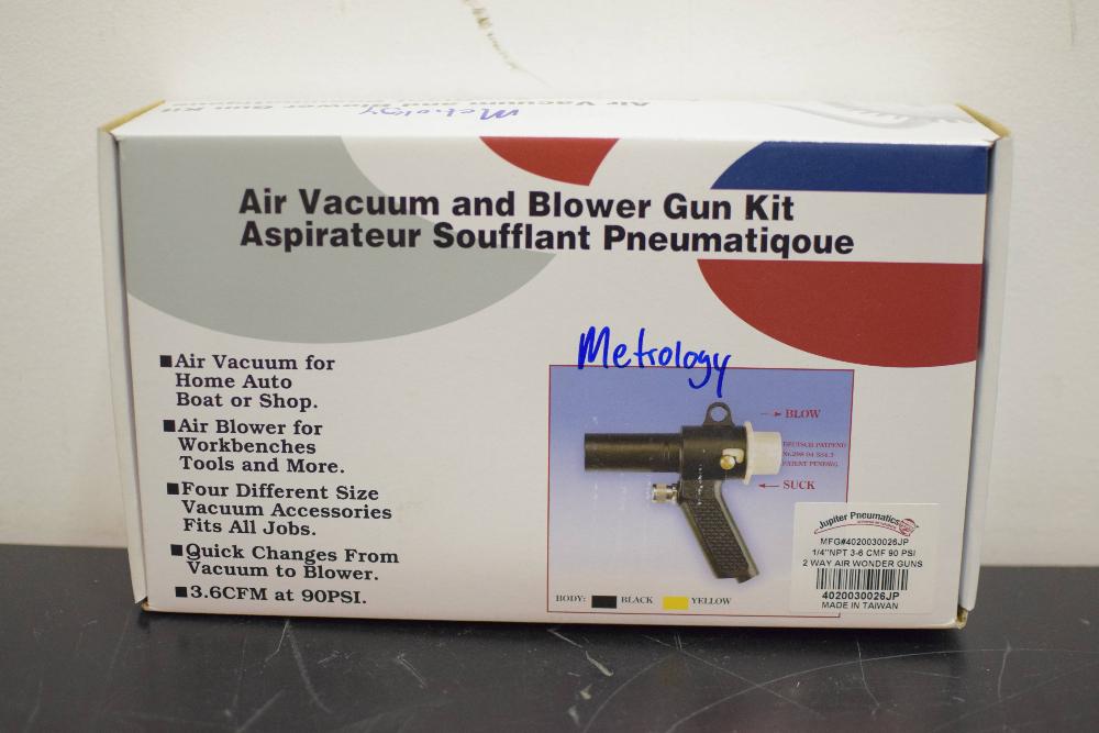 Jupiter Pneumatic Vacuum Air Gun Kit