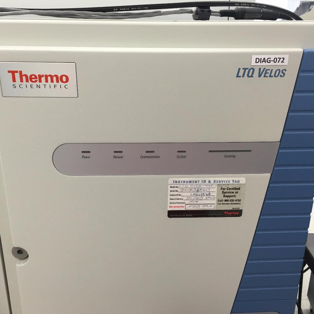 Thermo LTQ Orbitrap Velos Mass Spectrometer