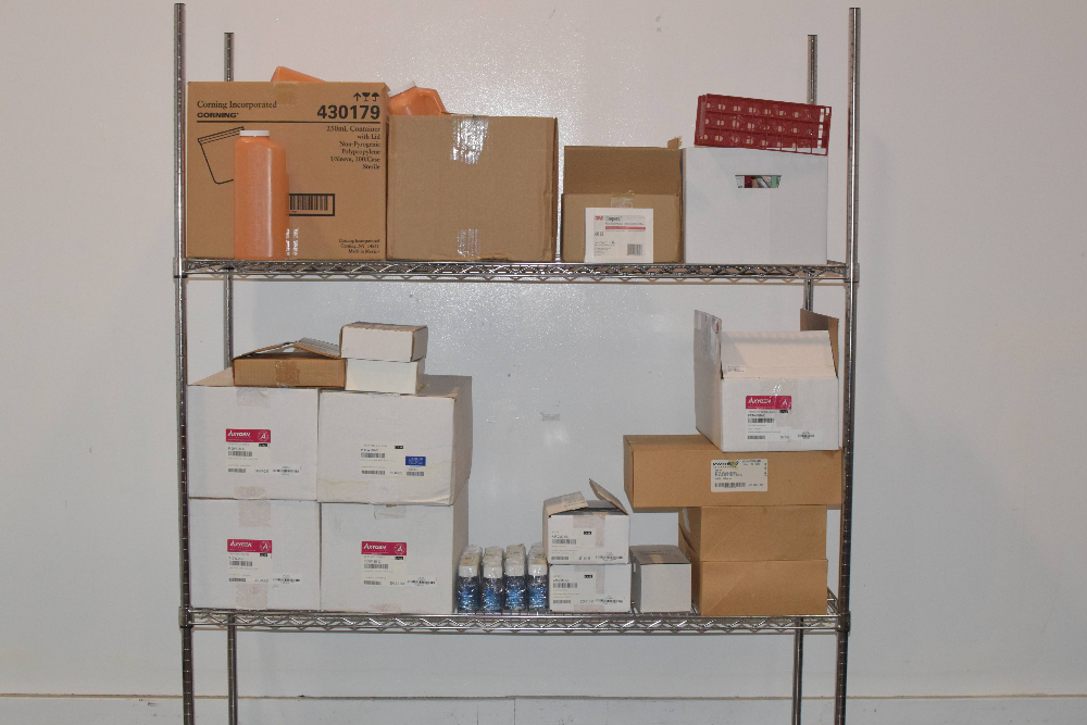 Lot of miscellaneous lab supplies
