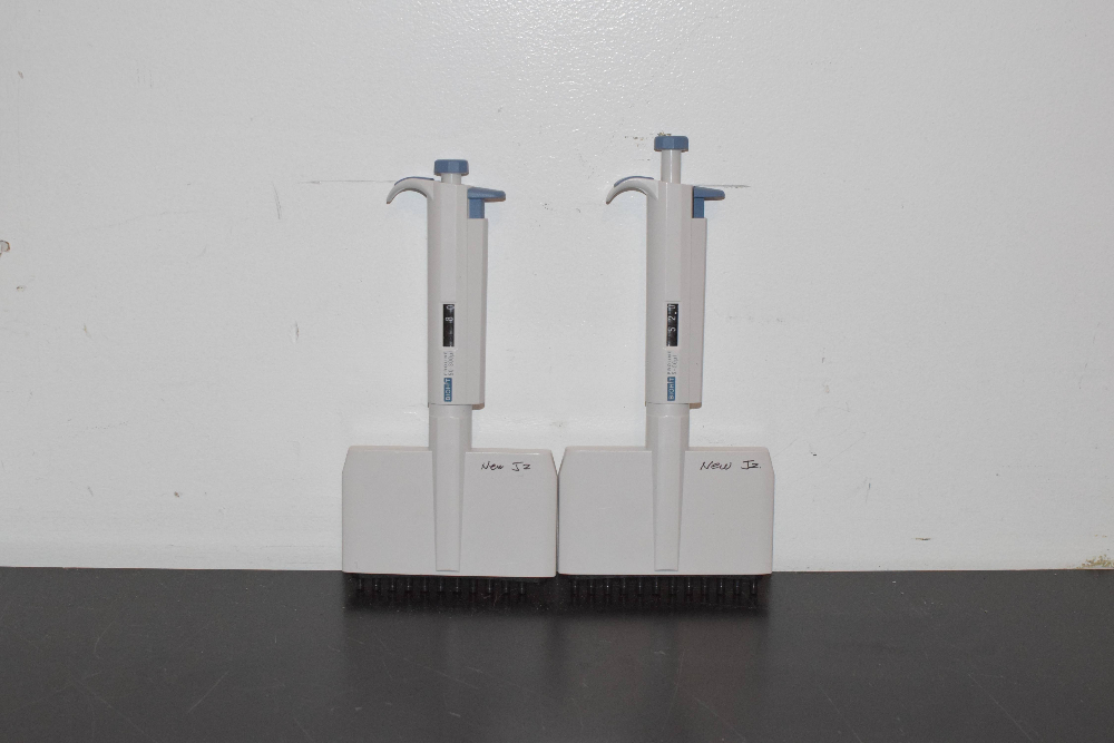 Lot of 2 Biohit Proline Multi-Channel Pipets