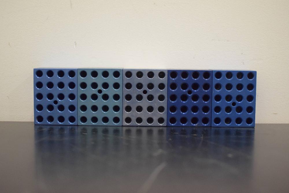 Lot of 5 heat blocks