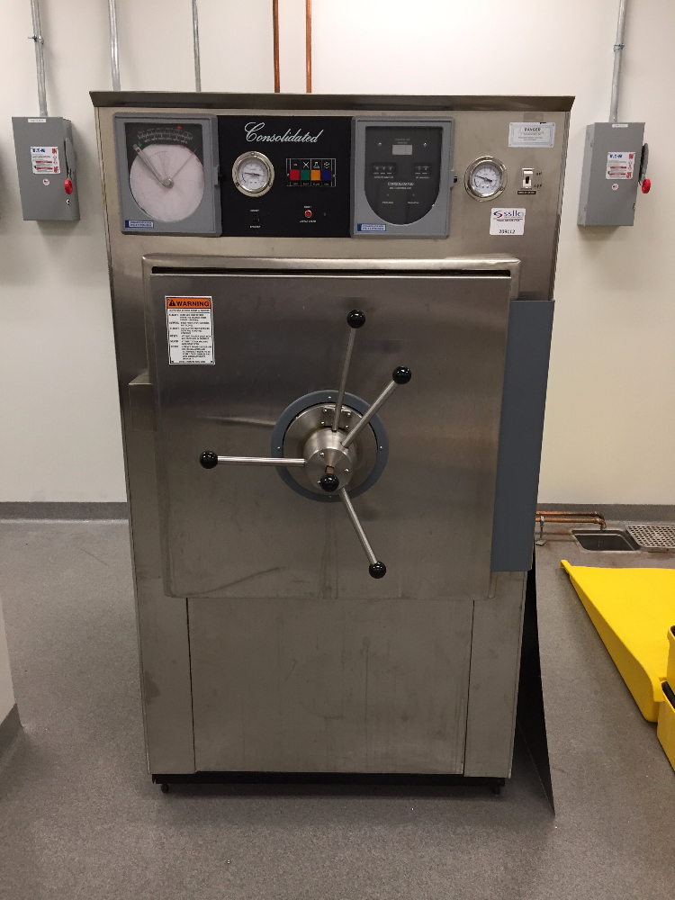Consolidated Model SR-24A Autoclave