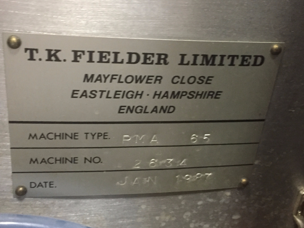 65 Liter T.K. Fielder High Shear Mixer