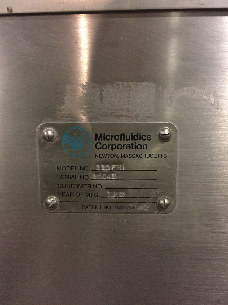 Microfluidics 110EH Microfluidizer