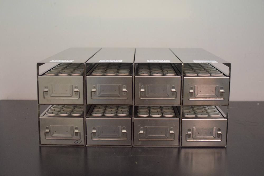 Lot of 4 Freezer Racks