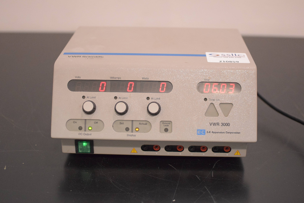 VWR 3000 Electrophoresis Power Supply