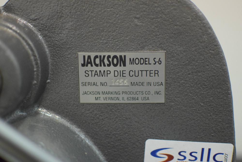 Jackson S-6 Stamp Die Cutter