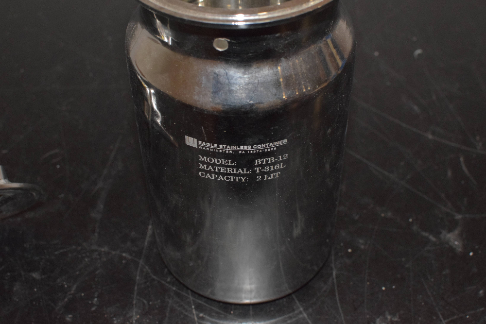 Eagle BTB-12 Stainless Container