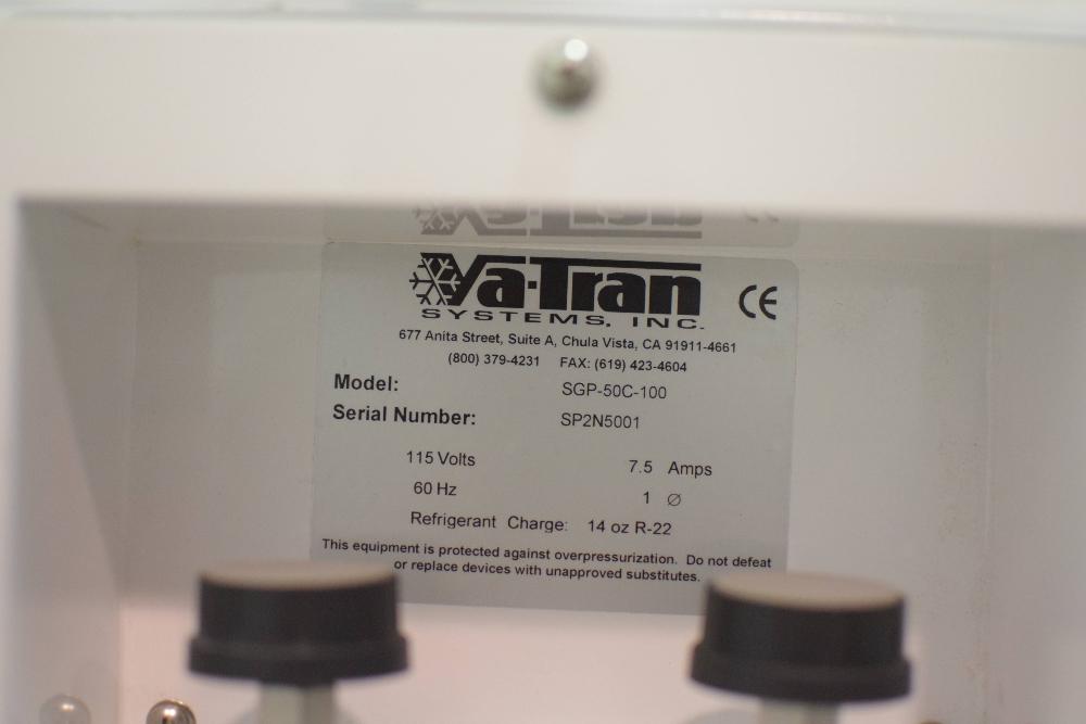 Va-Tran SGP-50C-100 CO2 Purifier