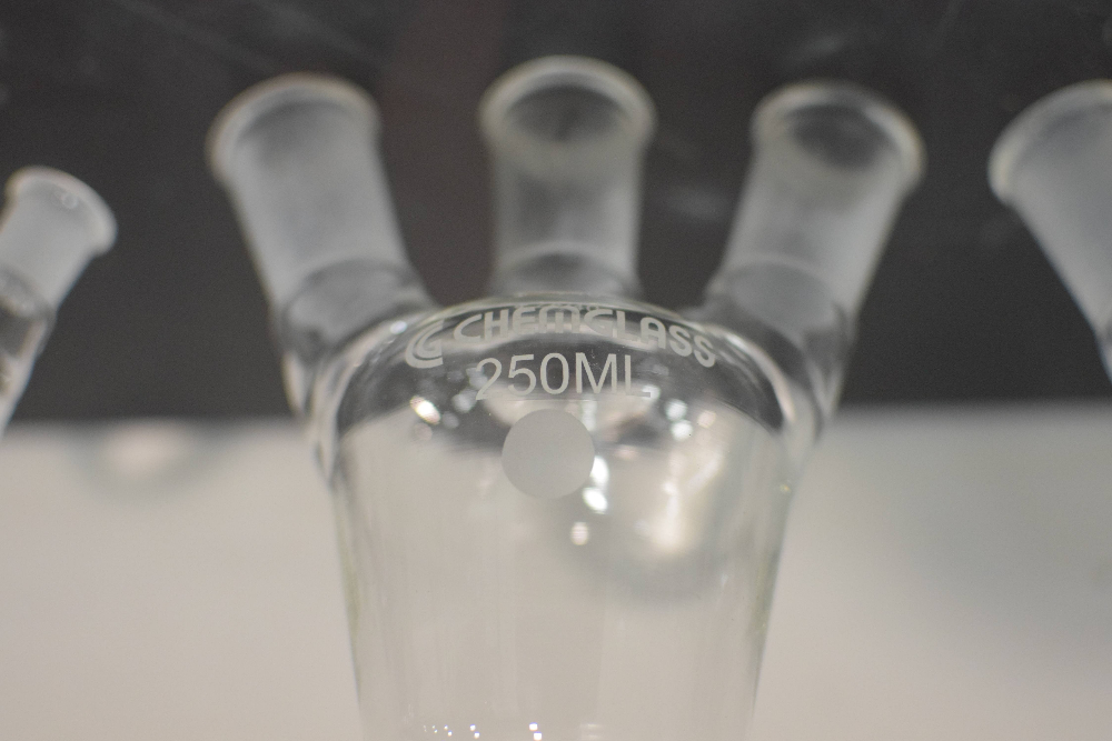 Lot of Chemglass Glassware