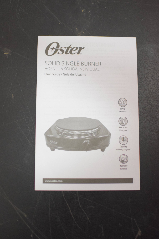 Oster CKSTSB100-B Table Stove