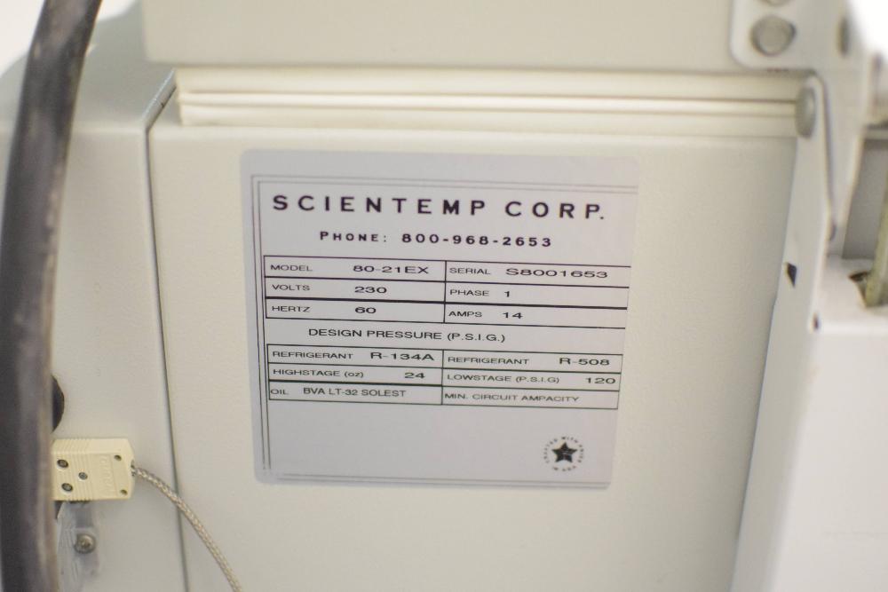 Scientemp Corp 80-21EX Ultra Cold Chest Freezer