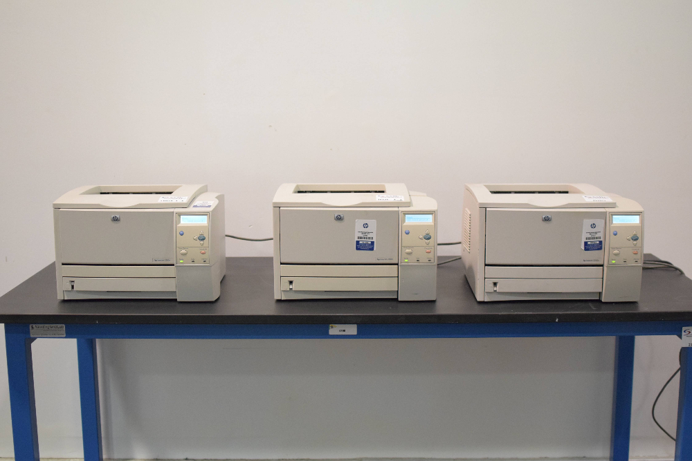 Lot of (3) HP LaserJet 2300n Printers