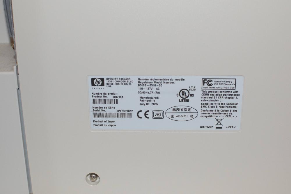 HP Color LaserJet 5550dtn Printer