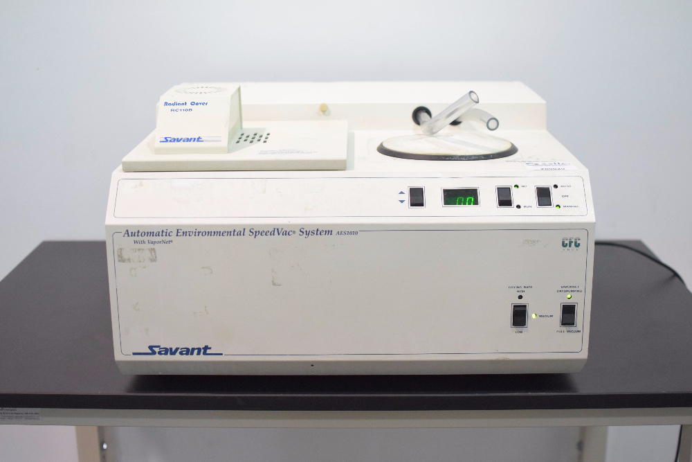 Savant AES1010 Automated Environmental SpeedVac System w/VaporNet