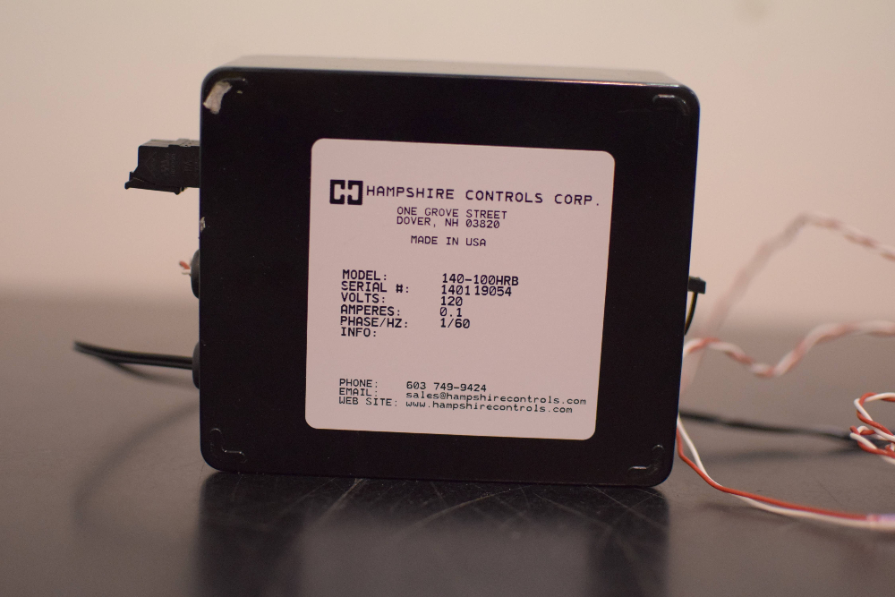 Hampshire Controls Corp Model 140-100HRB T Sentry  Single Sensor Probe Alarm
