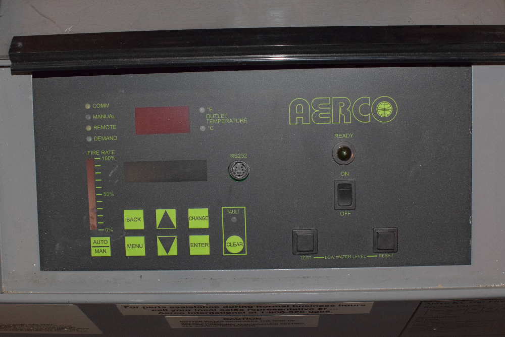 Aerco KC Series Gas Fired Water Heating System
