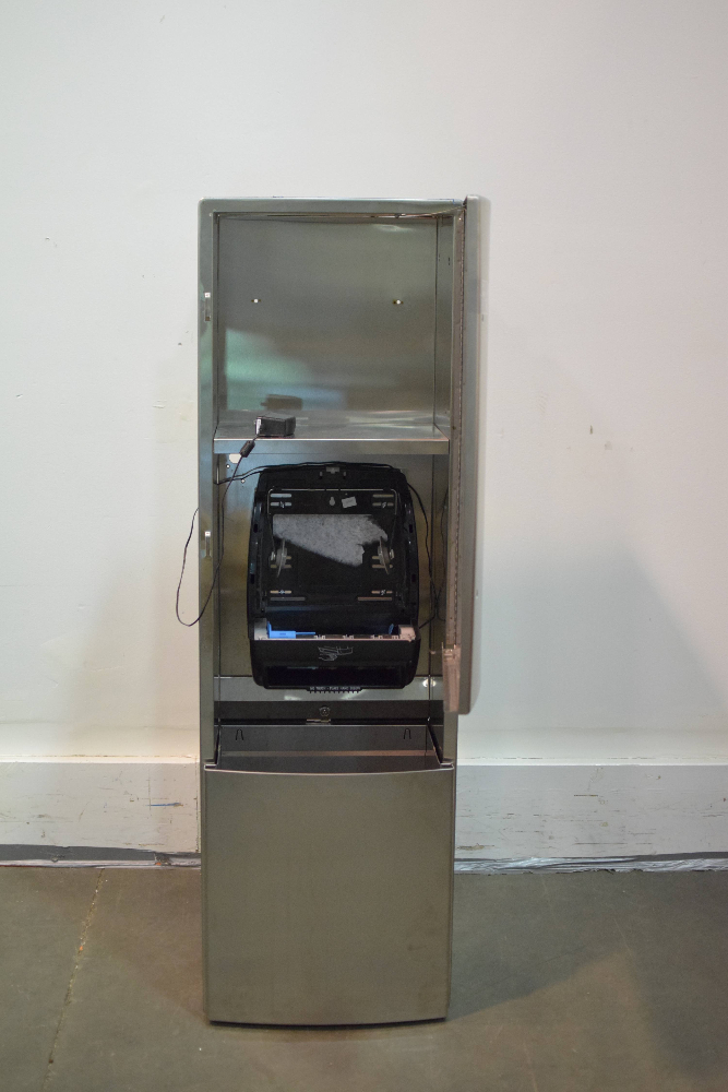 American Specialties Inc 10-046924AC Roll Towel Dispenser