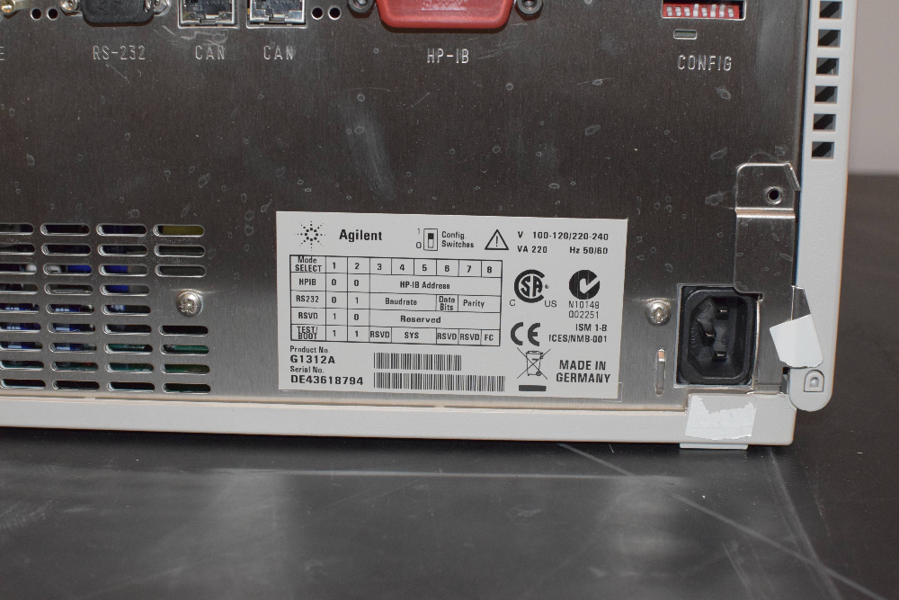 Agilent 1100 Series G1312A BinPump