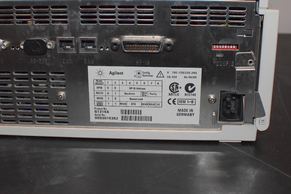 Agilent 1100 Series G1316A ColCom
