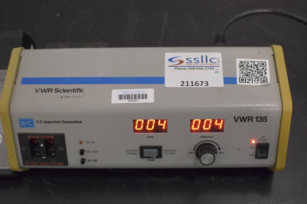 VWR 135 Electrophoresis Power Supply