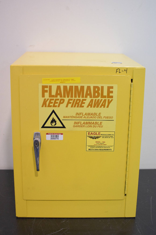 Eagle Manufacturing model 1904 Flammables Storage Cabinet