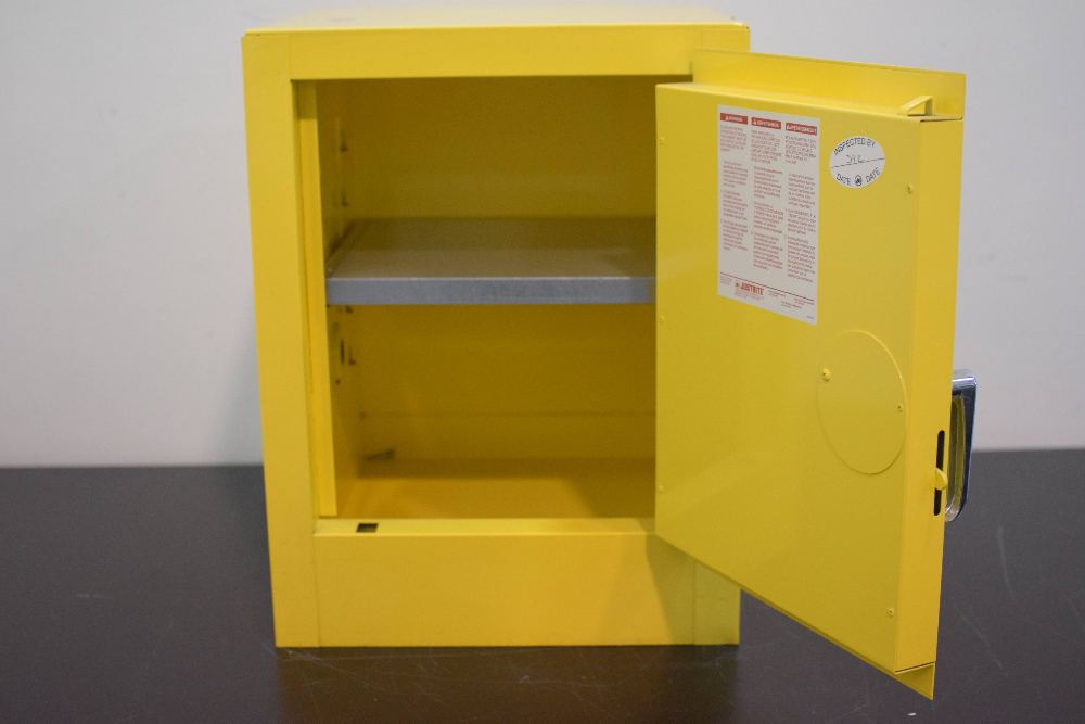 JustRite model 25040 Flammables Storage Cabinet