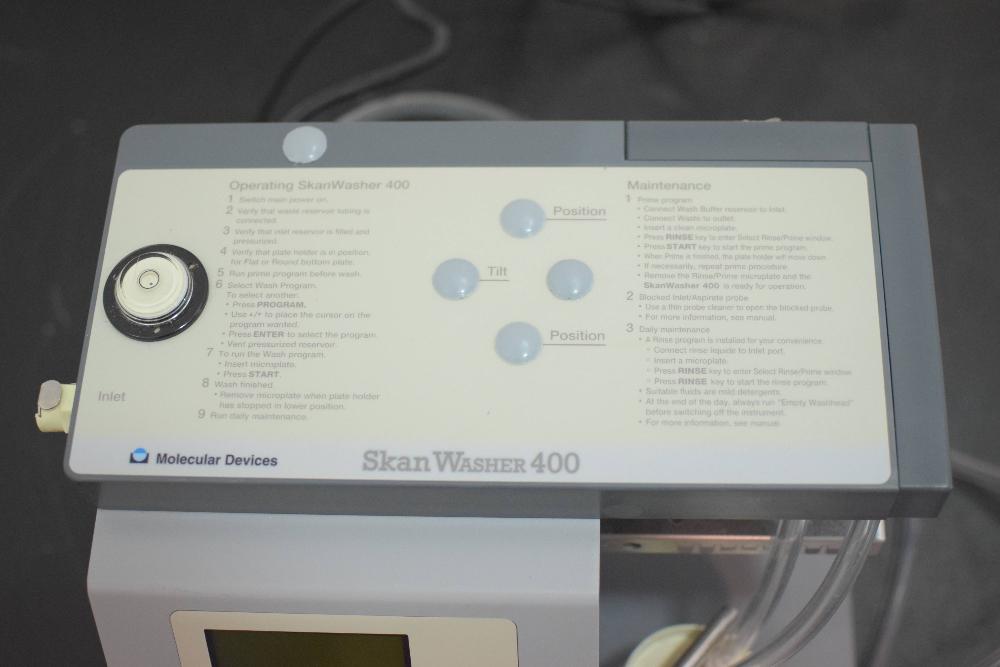 Molecular Devices SkanWasher 400 Microplate Washer