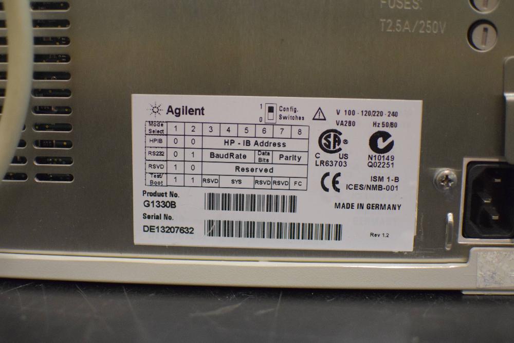 Agilent 1100 Series G1330B ALS/Therm