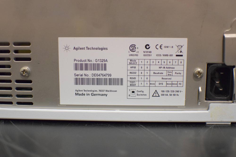 Agilent 1200 Series G1329A ALS  Autosampler