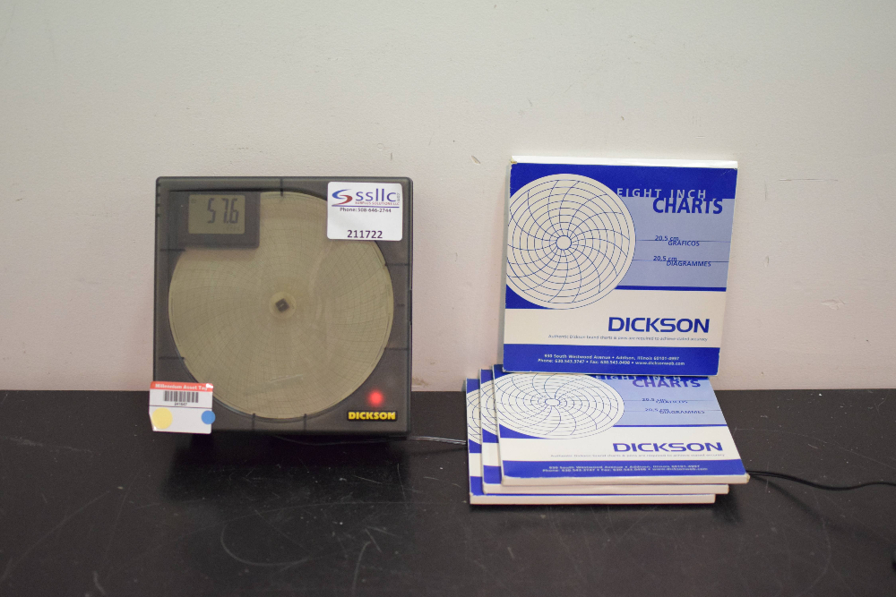 Dickson TH802 Temperature & Humidity Chart Recorder