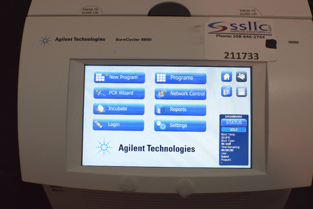 Agilent Technologies SureCycler 8800 Thermal Cycler