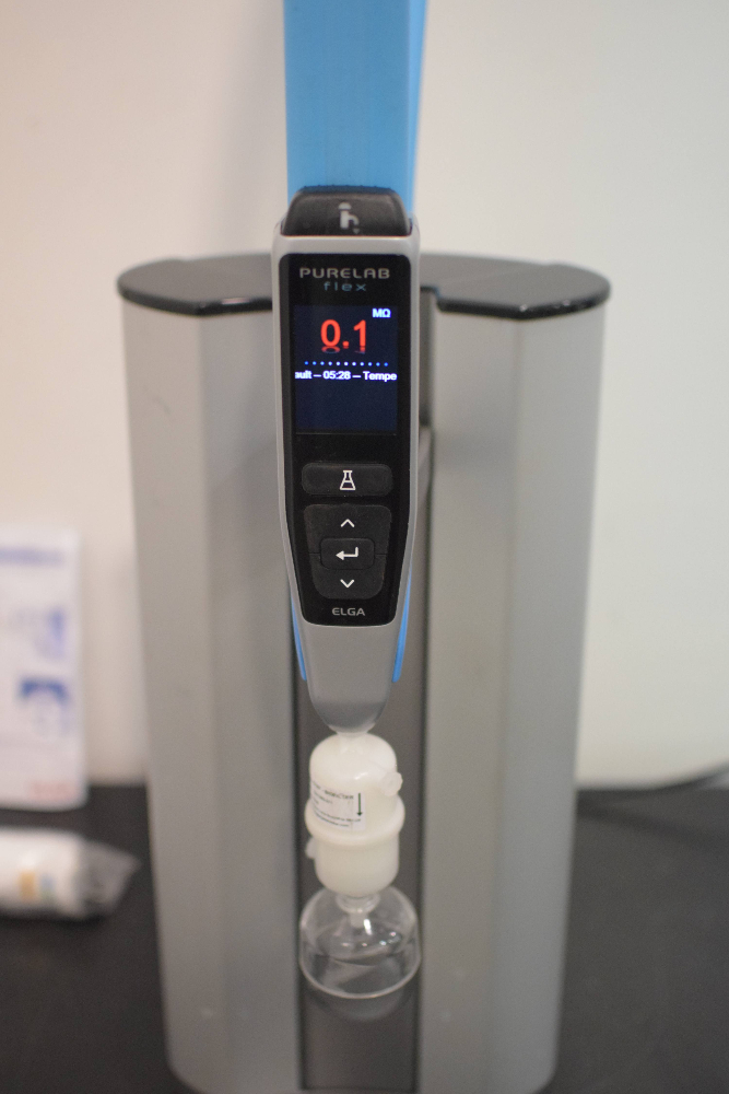 Elga model PF2XXXXM1 Water Purification System