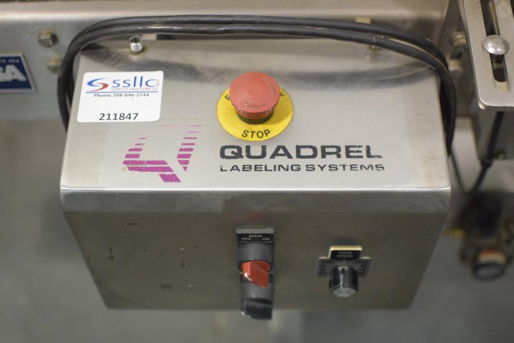 Quadrel Moduline Labeling Machine