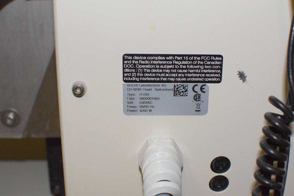 Buchi Rotavapor R-220 Rotary Evaporator System