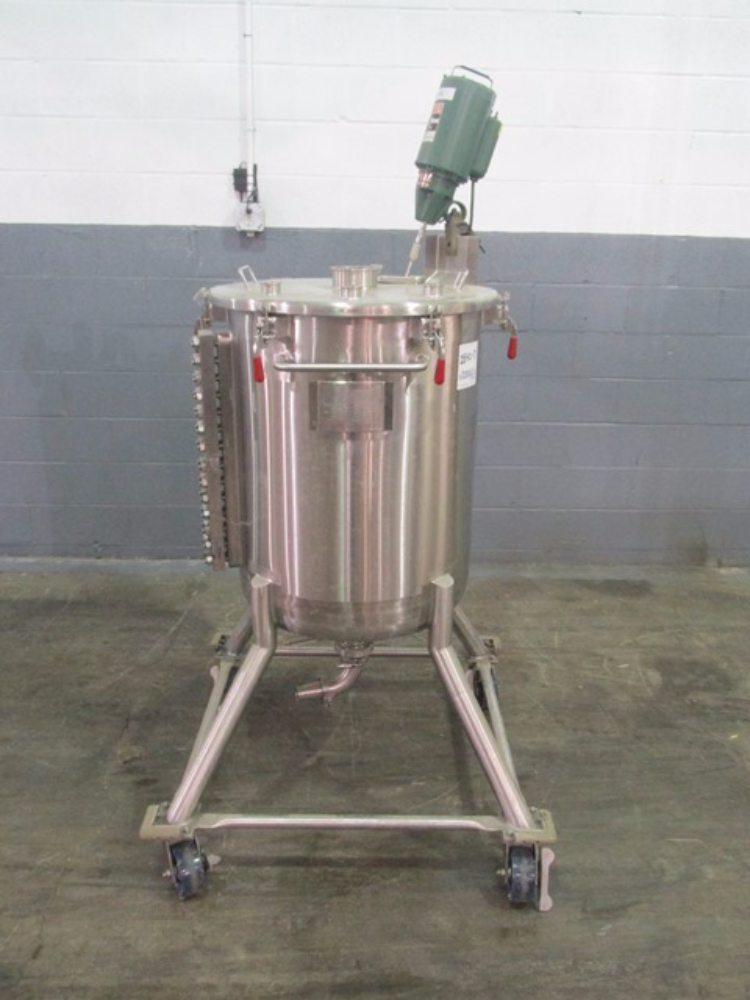 250 Liter Precision Stainless Mix Tank