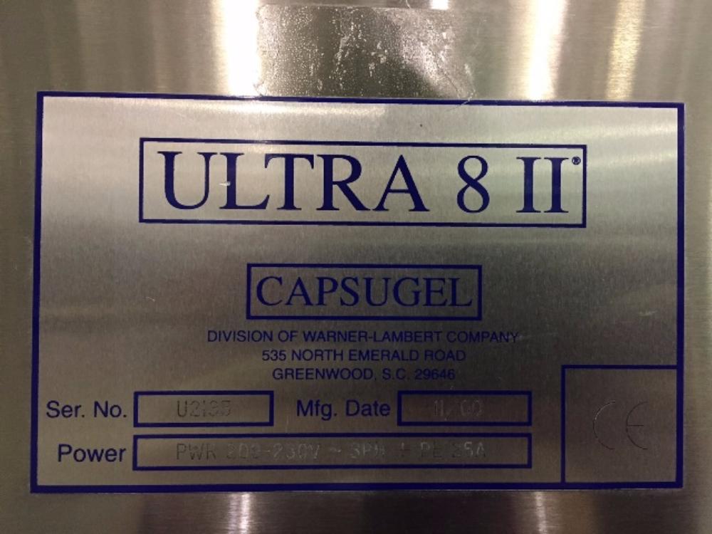 Capsugel Ultra 8 II Capsule Filler