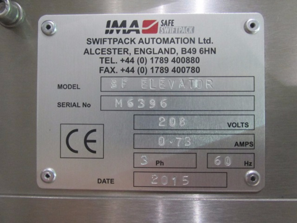 IMA Swiftpack S95 Capper