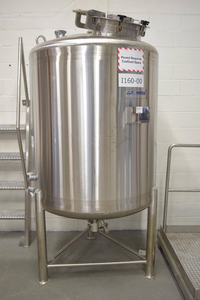 1500 Liter Mueller Stainless Steel Tank