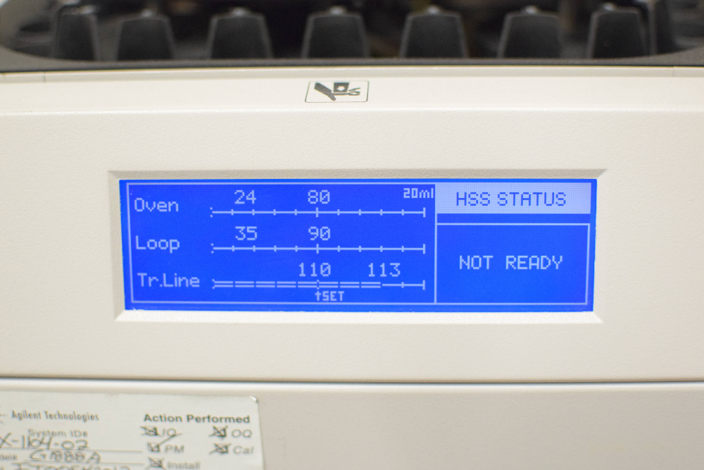 Agilent G1888A Network Headspace Sampler