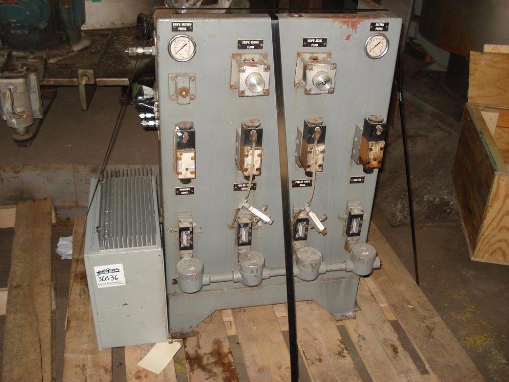 "Krauss Maffei Basket Centrifuge, 49"" x 32"" 316 S/S"