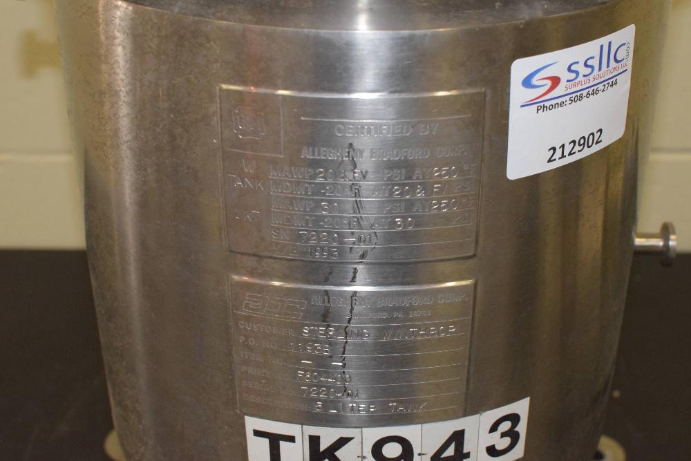 Alleghany Bradford 5 Liter Tank