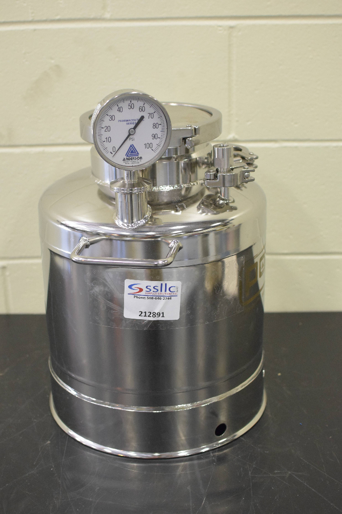 Pope Scientific Portable Pressure Vessel