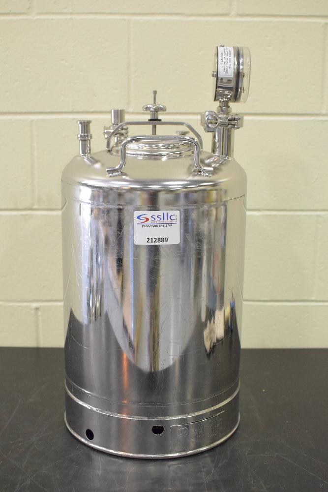 Pope Scientific Portable Pressure Vessel