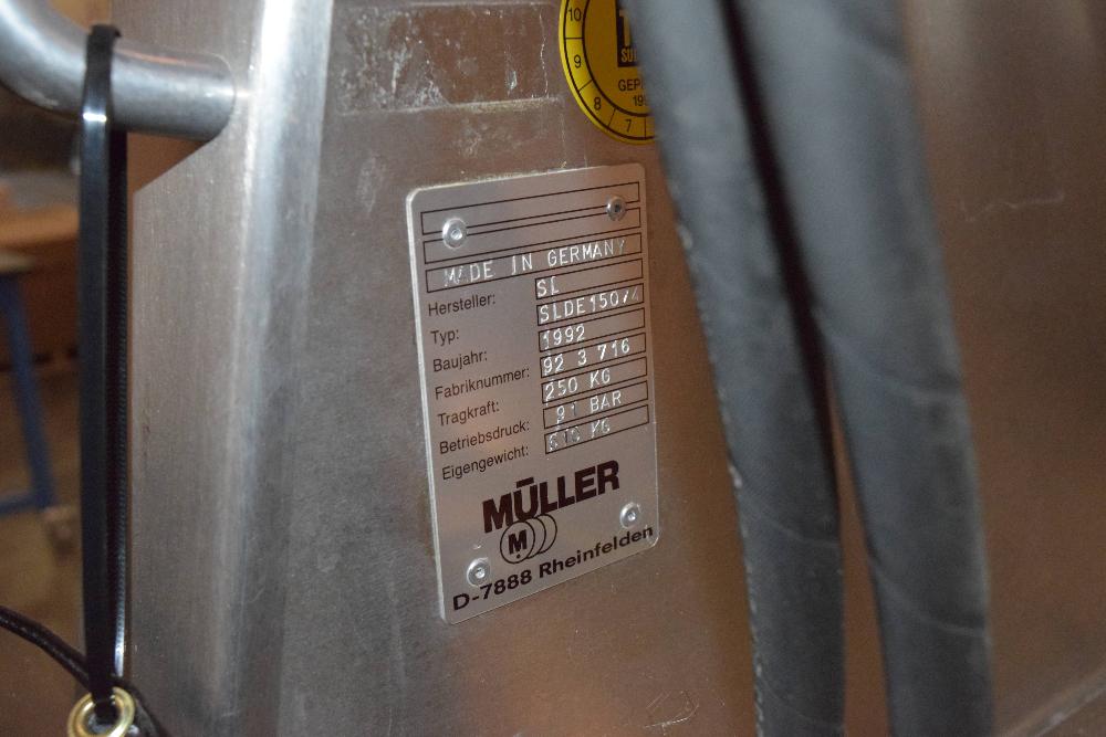 Muller SLDE 150/4 Drum Lift