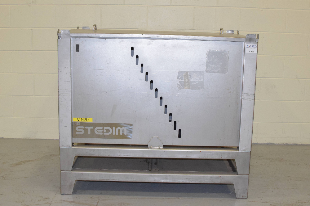 Stedim Palletank Modular 500L In-Process Fluid Handling Container