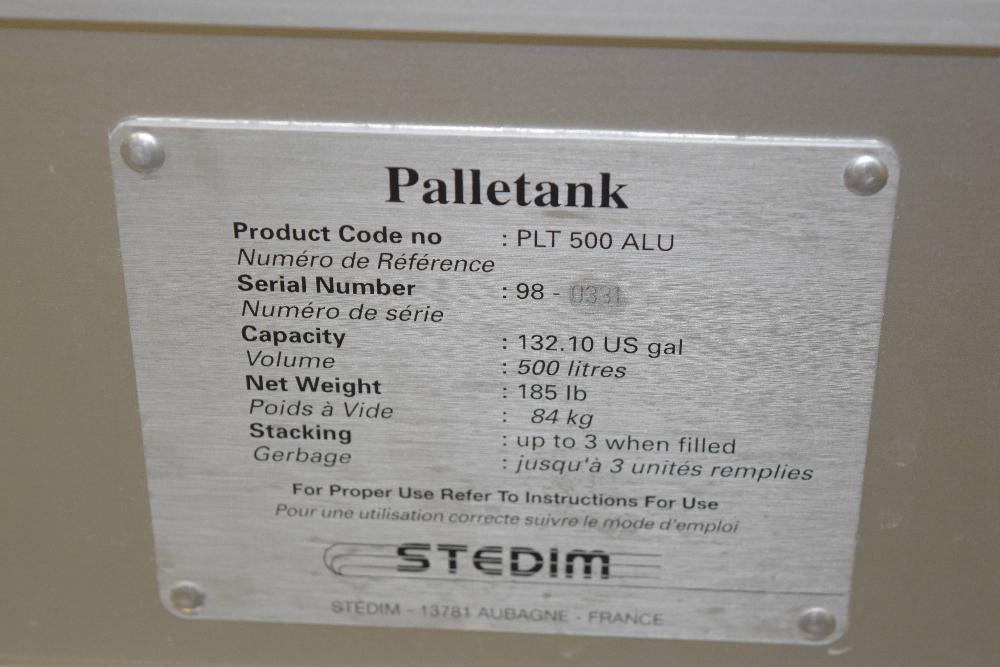 Stedim PLT 500 ALU Palletank