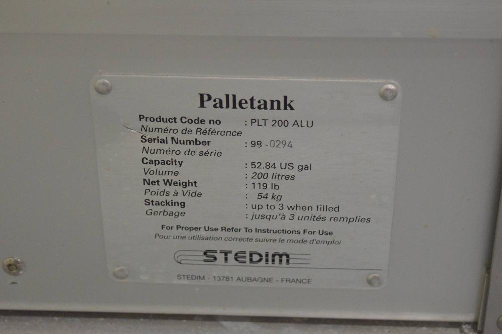 Stedim PLT 200 ALU Palletank
